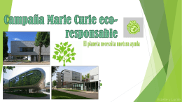 Campana Marie Curie eco-responsable