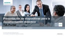 Documentación didáctica TIA Portal