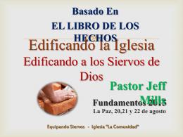 """Equipando Siervos - Iglesia """"La Comunidad"""""""