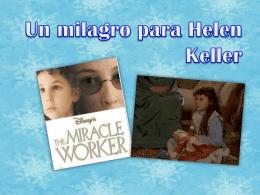 Un milagro para Helen Keller