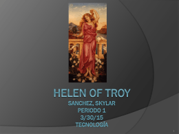 Helen of Troy - sanchezportofolio