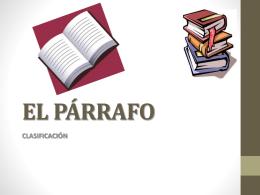 EL PÁRRAFO - WordPress.com