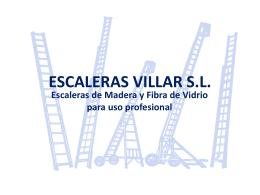 PROYECTO U.D.4: ESCALERAS VILLAR S.L.
