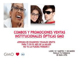 promociones GMO