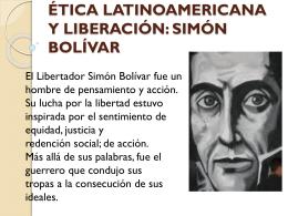 ética latinoamericana y liberación
