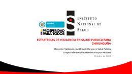 Presentación de PowerPoint - Instituto Nacional de Salud