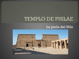 1 Templo Philae – Egipto