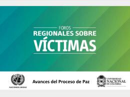 Las Víctimas y el Proceso de Paz