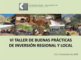 Catalina Huanca - Ministerio de Energía y Minas