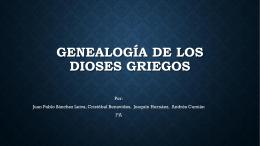 GenealogÃ-a de los Dioses Griegos