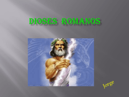 DIOSES ROMANOS - CEIP Piedra de Arte