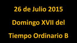 Domingo XVII