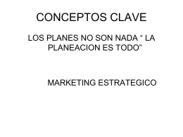 MARKETING ESTRATEGICO.