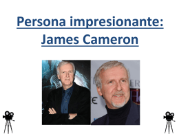 Persona impresionante: James Cameron
