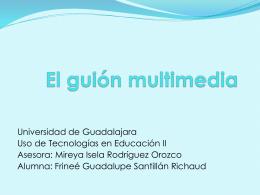 El guión multimedia