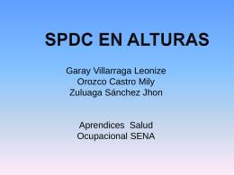 equipos en alturas - Salud Ocupacional SENA 2013
