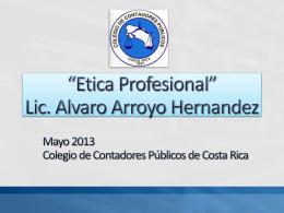 Ética Profesional - Colegio de Contadores Públicos de Costa Rica