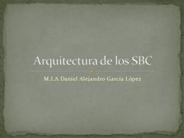 Arquitectura de los SBC