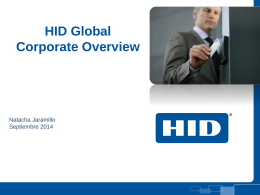 ID & Security Spanish HID