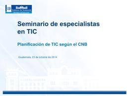 Presentación CNB