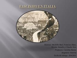 Fascismo en Italia
