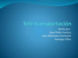 Teletransportacion