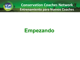 Socios - Conservation Coaches Network