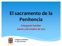 El sacramento de la Penitencia (664544)