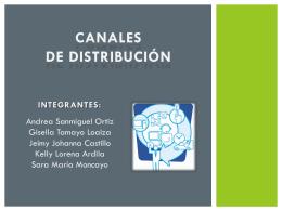 EXPO Canales de distribucion