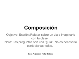 Composición - WordPress.com