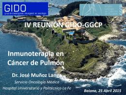 IV REUNIÓN GIDO-GGCP (Baiona, 25 Abril 2015)