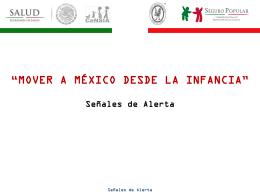 Señales de Alerta - Hospital Infantil de México Federico Gómez