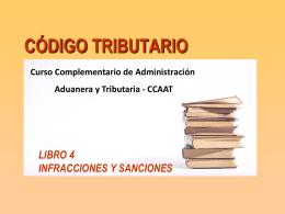 tabla de infracciones y sanciones