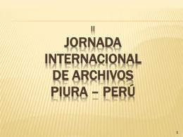 EL MICROFILM - Archivo General de la Nación