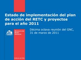 RETC_31_03_2011 - Ministerio del Medio Ambiente