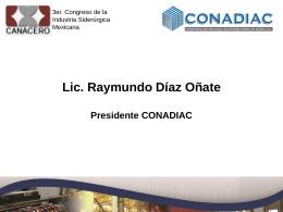 México - Monterrey - Cámara Nacional de la Industria del Hierro y