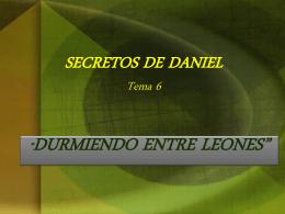 Daniel Capítulo 6