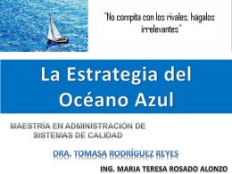 La Estrategia del Océano Azul MAESTRÍA EN - wiki-yeni