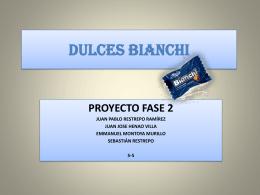 DULCES BIANCHI