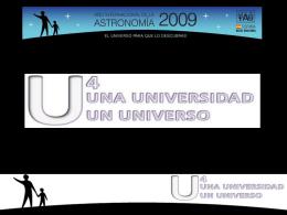 Diapositiva 1 - Año Internacional de la Astronomía 2009 en España