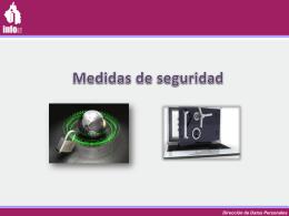 Sistemas de datos personales Sistema de Datos Personales
