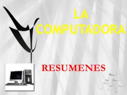 LA COMPUTADORA* - sistemasJSMEDY