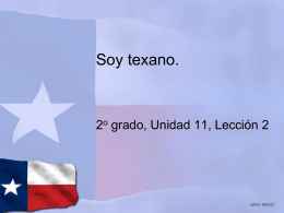 Soy texano Powerpoint
