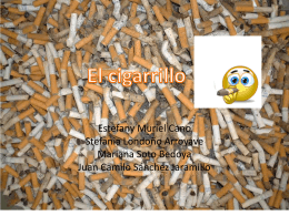 El Cigarrillo - WordPress.com