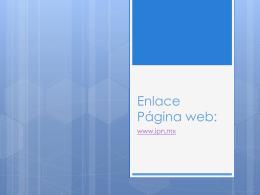 Enlace Página web y patrones