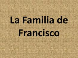 La Familia de Francisco
