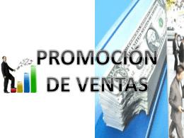 promoción de ventas y fuerza de ventas