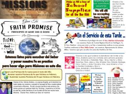 August 16 2016 Bulletin - Iglesia Bautista Puerta La Hermosa