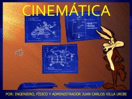 cinemática introducción