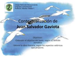 Juan Salvador Gaviota - Blog de Lenguaje y Comunicación